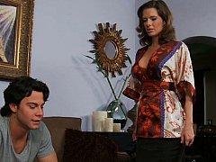 Veronica Avluv, Seth Gamble  Miss Avluv comes home to find Seth