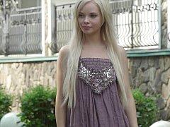 Feeona A  Blonde Teen Undressing^beeg