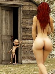 Nasty Forest Giant Rips Open His Lovers Shirt^kingdom Of Evil 3d Porn Sex XXX Free Pics Picture Gallery Galleries