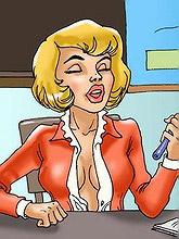 75 sex hungry slut^Cartoon...