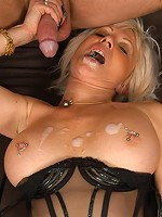 Hottest grandma youve ever seen fucks with experience!