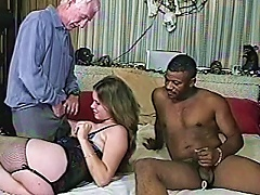 Curvy  Enjoys Interracial Mmf  In Homemade Video