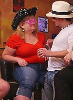 free bbw pics Guys get to watch fat party...