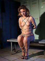 Mistress Mandy Forces Hadjara To Swallow A Dildo