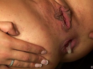 Blonde Motivates The Black Penis With A Blowjob For A Rough Doggystyle Bonking
