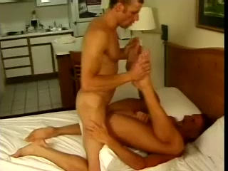 A Homo Blows And Gets His Ass Pounded In Missionary Position