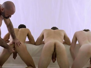 Aa Vid Hot Foursome With Older Guy