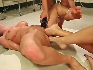 Hardcore Foot Fisting Lesbian Orgy With Four Wicked Whores