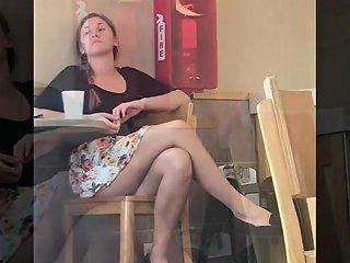 Fast Food Upskirt Free Voyeur Hd Porn Video 33 Xhamster