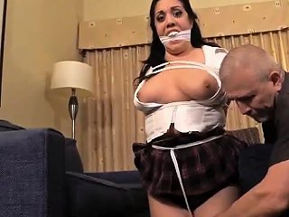 Girl In Fetish Uniform Uses Strapon To Fuck Her Bf Nuvid