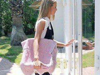 Shy Teen Asuna Fox Gets Intimate With Her New Well Endowed Neighbor