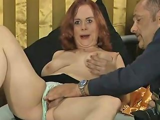 Redhead Chubby German Teen Picked Up For Her First Porn