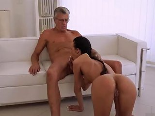 Blonde Teen Fucks Old Teacher And Vs Young Threesome This Tall And