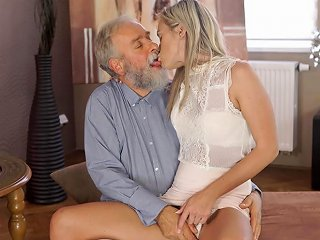 Vip4k Angel Face Sucks Old Dick And Gets It In Her Sensitive Sissy