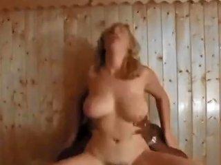 Busty Scottish Girl Likes Big Ones