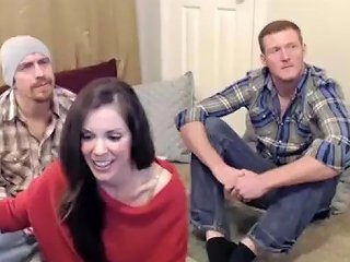 Hottest Homemade Record With Chaturbate Threesome Scenes