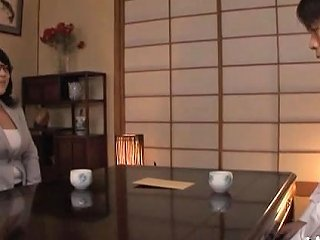 Weenie Hungry Japanese Mature Sucks A Big Rod Passionately