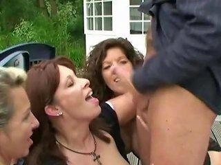 Mutter Und Milfs Beim Spontanen Gruppensex Im Park Porn Dc
