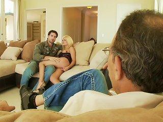 Hardcore Cuckold Sex Scene With Blonde Hottie Riley Steele