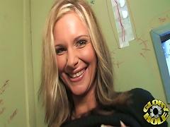 free cum video Phoenix Marie sucks a dick...