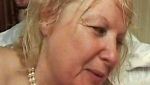 French Mature N5 Blonde Bbw Anal Mom Milf And 2 Bi Men