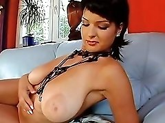 Wanton Darling Needs A Pecker Between Her Big Tattas