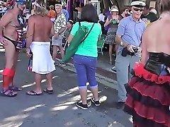 Naked Street Flashers Fantasy Fest Sluts 3 Free Hd Porn 60