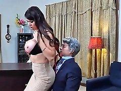 Massive Boobs Eva Karera Anal Pounded On Office Desk Porn Videos