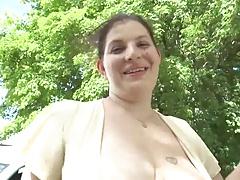 Sexy Chubby Wife Fucks Stranger