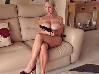 Solo Babe Michelle Drills Her Wet Cunt With A Long Dildo Any Porn