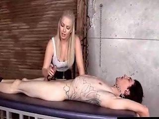 Mistress Lexi Milks Chastity Slaves Cock 124 Redtube Free Cumshot Porn