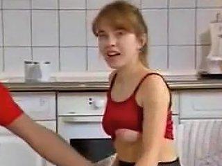 Sex On The Kitchen Floor Txxx Com