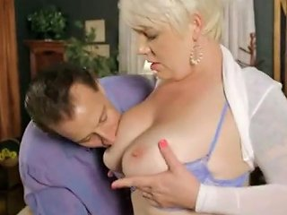 Super Saucy Blond Hair Lady Missy Monroe With Huge Natural Tits