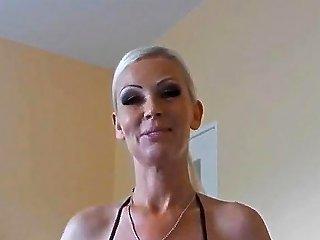 Dirty Blowjob By German MILF Slut With Happy Ending