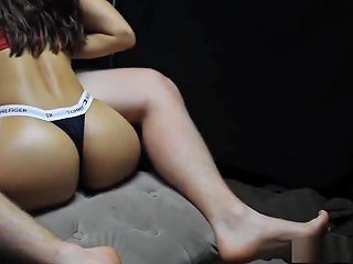 Hot Fitness Model Loves To Suck And Titfuck Her Boytoy's Cock