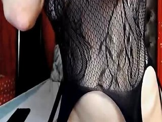 Brunette Babe Awesome Curved Fantastic Cam Play