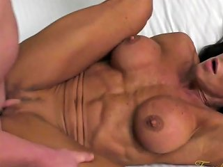 Female Bodybuilder Fucks Her Boyfriend Briana Beau Porn 65