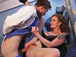Zara Durose Seduced By A Dentist With A Massive Boner