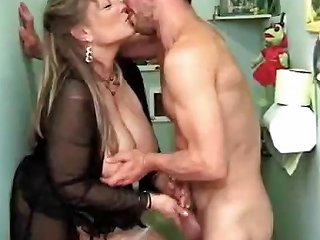 Worn Out Mature Prostitute With Huge Tits Services Two Guys Drtuber