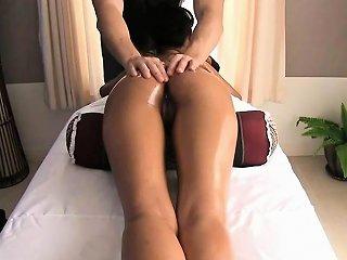 Sensual Massage Goes Sexual On Thai Teen Balloon
