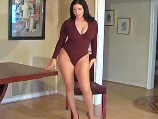 Pantyhose Jerk Off Instructions From Beauty