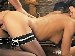 Elegant Nympho Spreads Tight Vagina And Gets Deflowered62xit