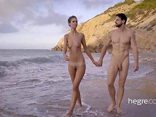Hegre Art Tantric Beach Massage