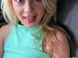 Perky Tits Teen Bangs Huge Dick In Car Porn Videos