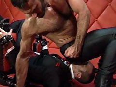 Hot gay anal sex in bondage