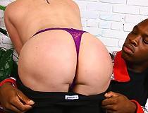 Porn legend Kylie Ireland fucks huge black dick