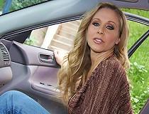 The legendary Julia Ann gets slammed in interracial pov clips
