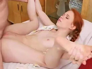 Redhead Emo Threesome And Amateur Teen Shared Online Hook Up