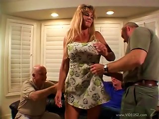 Horny Milf Wife Fucked In Front Of Her Cuckold Husband