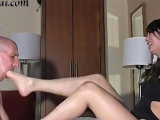 White Male Lick Feet Asian Girl Funny 01